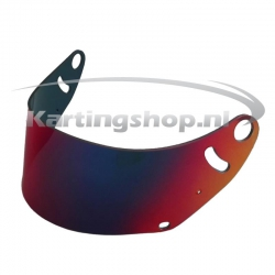 FR Red Mirror visor Arai...