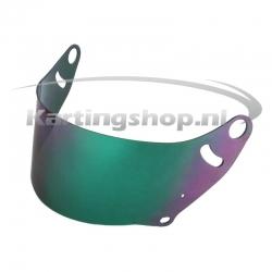 FF Green Mirror helmet...