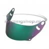 FF Green Mirror helmet visor, Arai CK-6