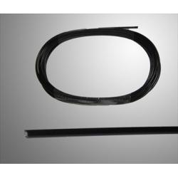 Gaskabel buitenkabel Teflon 2.5x5.0 mm per meter
