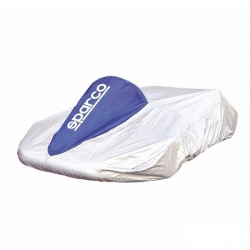 Sparco Kart Cover Grey/Blue