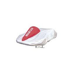 Sparco Kart Cover Grey/Red