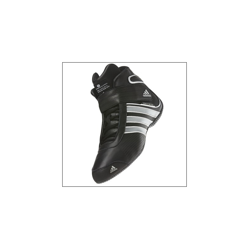 low priced 29ee9 a8023 Racing nl Adidas WJS SvartMetallic skor Daytona Kartingshop Silver PSX0P