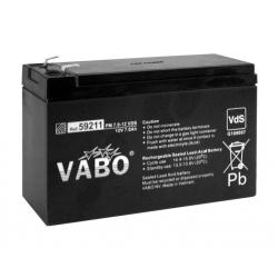 Vabo 12V 7.2 AH battery