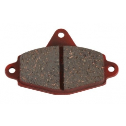 Set brake pads RR EVO red...