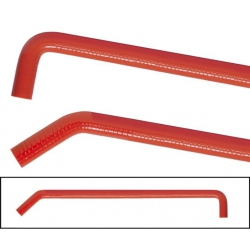 Red Silicone water hose 20...