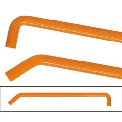 Orange Silicone water hose...