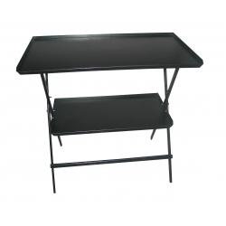 Рабочий стол черный ОР