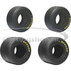 Dunlop SL1 slick tyres set...