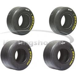 Dunlop SL3 slick tyres set...