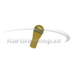 Schakelpook knop Goud M8
