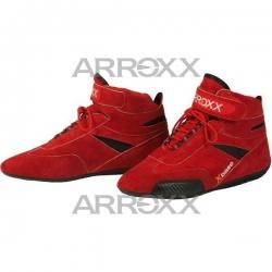 Red Suede Leather Arroxx...