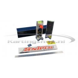 Sniper V2 Inox laseruitlijner for 17, 25 and 40 mm kind of parts