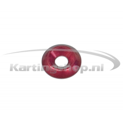 Recessed Ring M6 × 20 mm Red