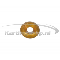 Verzonken Ring M6×20mm Oranje