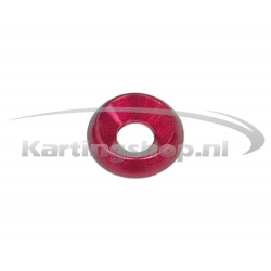 Recessed Ring M8 × 22 mm Red