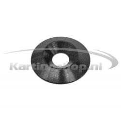 Recessed Ring M8 × 30 mm Black