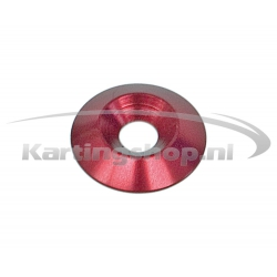 Recessed Ring M8 × 30 mm Red