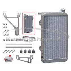 Radiateur New-Line 125RS 430 x 230 x 40mm cpl. met steun