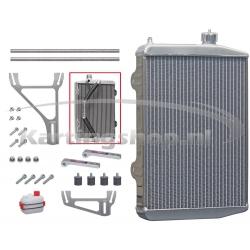 Radiateur New-Line RS BIG DOUBLE 430 x 290 x 40mm cpl. met steun