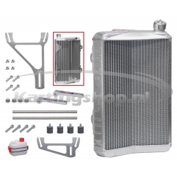 Radiator New-Line RSV stora 430 x 295 x 40 mm cpl. med stöd