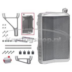 Radiator New-Line RSV store 430 x 295 x 40 mm cpl. med støtte