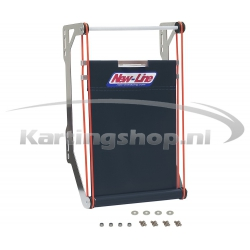 430 × 205 × 40 mm radiator...