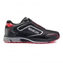 Sparco MX-Race schoenen Zwart-Rood