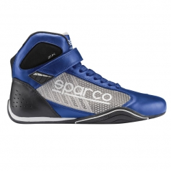 Sparco Omega KB-6 Shoes Blue-Silver