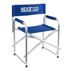 Sparco Paddock Chair Blue