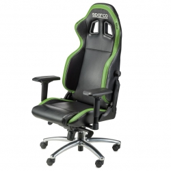 Sparco Office Chair Black-Green