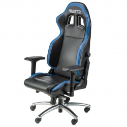 Sparco Office Chair Black And Blue