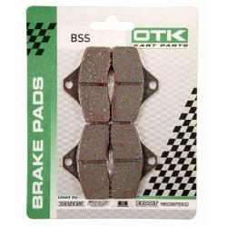Set of OTK brake Pads BSS KZ