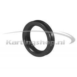 Afstandring voor 17mm Fusee Zwart 5mm