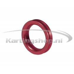Spacer for 17mm Stub Red 5mm