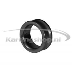 Afstandring voor 17mm Fusee Zwart 10mm
