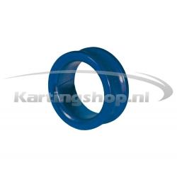Spacer for 17mm Stub Blue 10mm