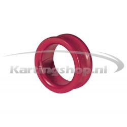Afstandring voor 17mm Fusee Rood 10mm