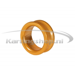 Afstandring voor 17mm Fusee Oranje 10mm