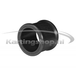 Afstandring voor 17mm Fusee Zwart 20mm