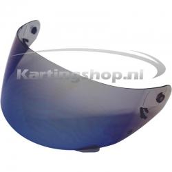 LS2 Blue Mirror Visor