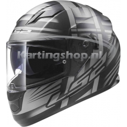 LS2 Stream Bang helmet Matt Black-Titanium