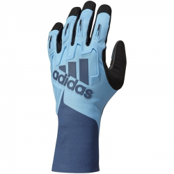 Adidas RSK Gloves, Cyan-Navy Blue