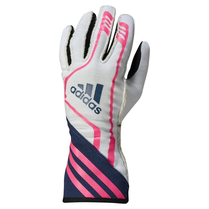 pensieri su Super sconto eccezionale gamma di stili e colori Adidas RSR Guanti Bianco-Blu-Rosa Fluo