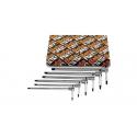 Beta 6-delig set T-sleutels met zeskant profiel op drie zijden