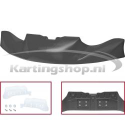 Bumperspoiler KG 506 CIK/20 - Zwart