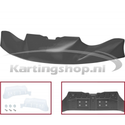 Bumperspoiler кг 506 ЦИК/20 - черный