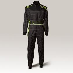 Speed Cordura Atlanta CS-1, the Overall Black-Neon Yellow