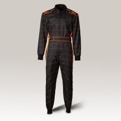 Speed Cordura Atlanta CS-1, the Overall Black-Neon Orange