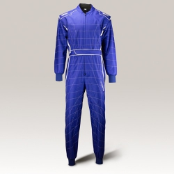Speed Cordura Atlanta CS-1 Overall Blauw-Wit